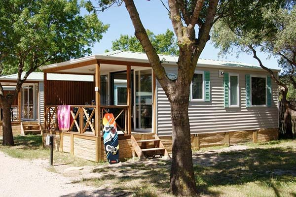 location mobil home caune minervois